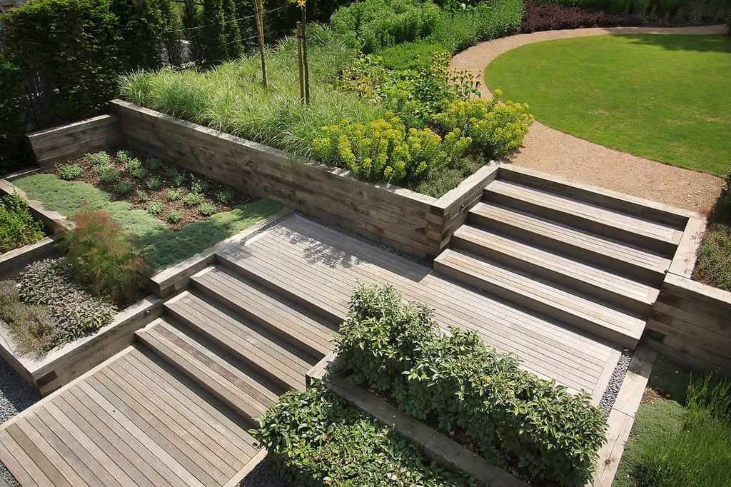 Timber retaining wall ideas