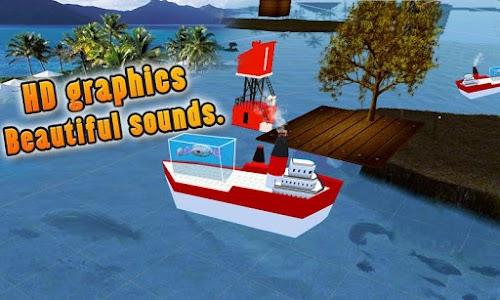 Transporter Ship Shark Aquarum screenshot 1