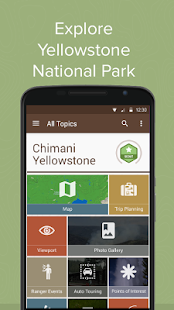 Chimani Yellowstone NP - screenshot thumbnail
