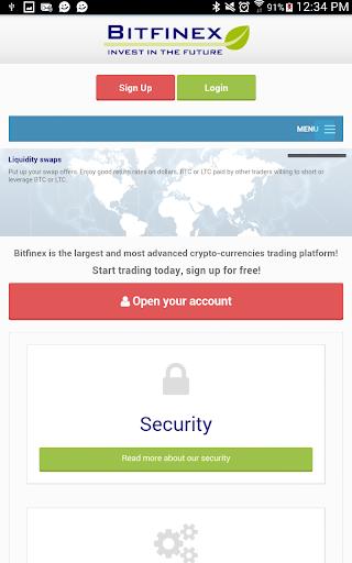 Bitfinex Secure Open Source