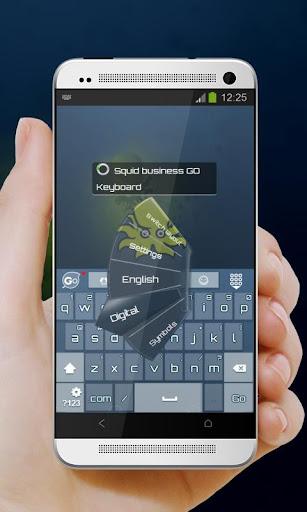 無料个人化Appのイカビジネス GO Keyboard|記事Game