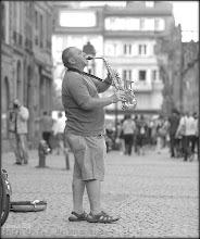 Photo: Fête de la Musique - Man with saxophone