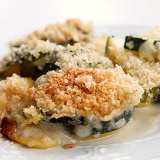 {Copycat} Trader Joe's Zucchini Alfredo Casserole