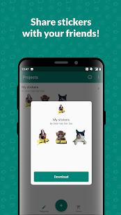 Sticker Studio - WhatsApp Sticker Maker Screenshot