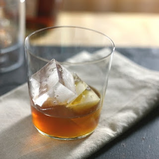 Bourbon and Honey Cocktail.