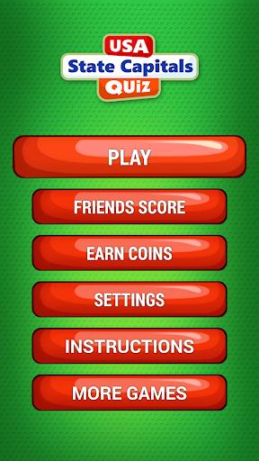 無料益智Appの米国の州の首都 クイズ|記事Game
