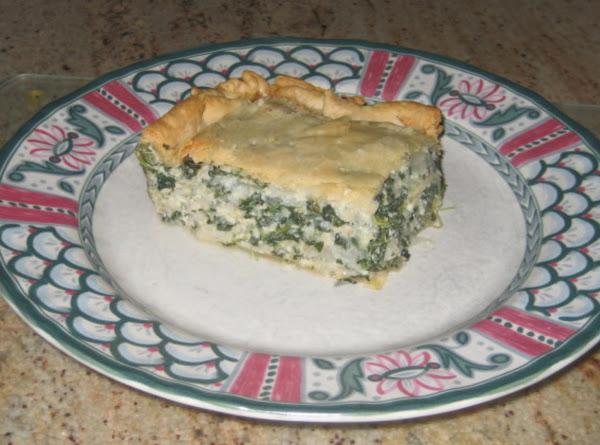 Spinach Torta Recipe