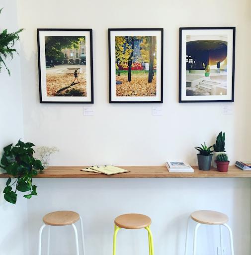 Art coffee shop