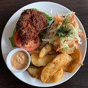 Southwest Buttermilk Chicken Sandwich & Fries