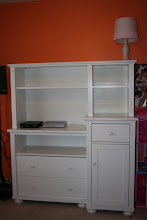 Photo: $150White dresser w/ removable hutch