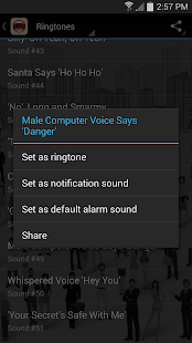 Cool Human Voice Ringtones screenshot