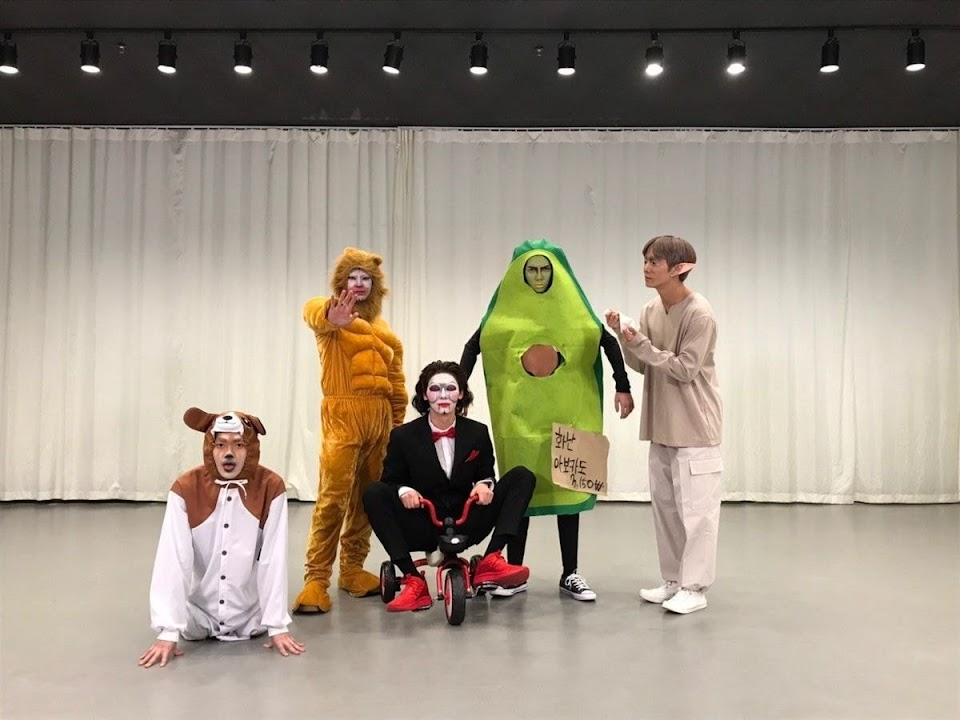 nuest cosplay feature