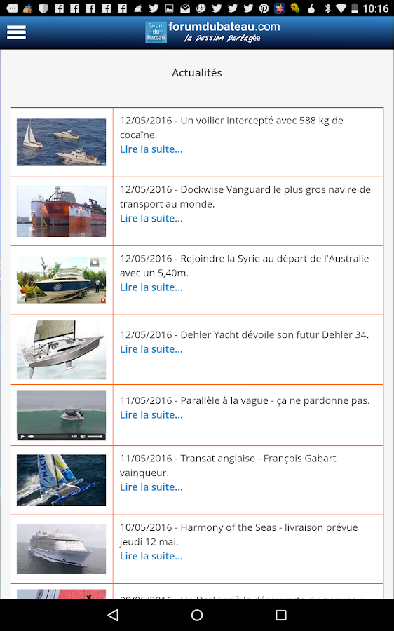 forumdubateau.com- screenshot