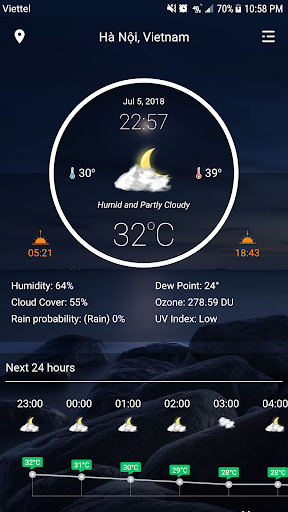 Weather Pro - Weather Real-time Forecast screenshot for Android