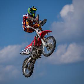 Heel Klicker by Kenton Knutson - Sports & Fitness Motorsports ( motocross, dirt bike )