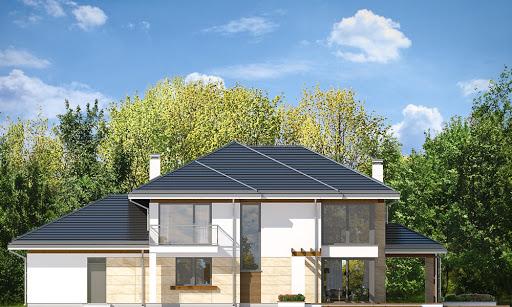Dom z widokiem 6 - Elewacja tylna