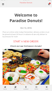 Paradise Donuts - Hebron KY- screenshot thumbnail
