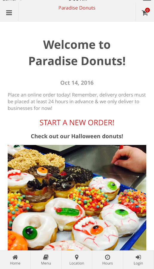 Paradise Donuts - Hebron KY- screenshot