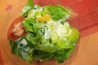 Photo: Ein feiner Blattsalat