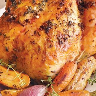 Butter-Herb Roasted Chicken