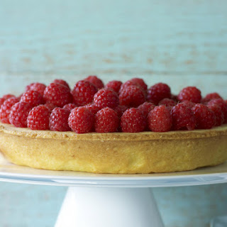 Raspberry and Ricotta Tart