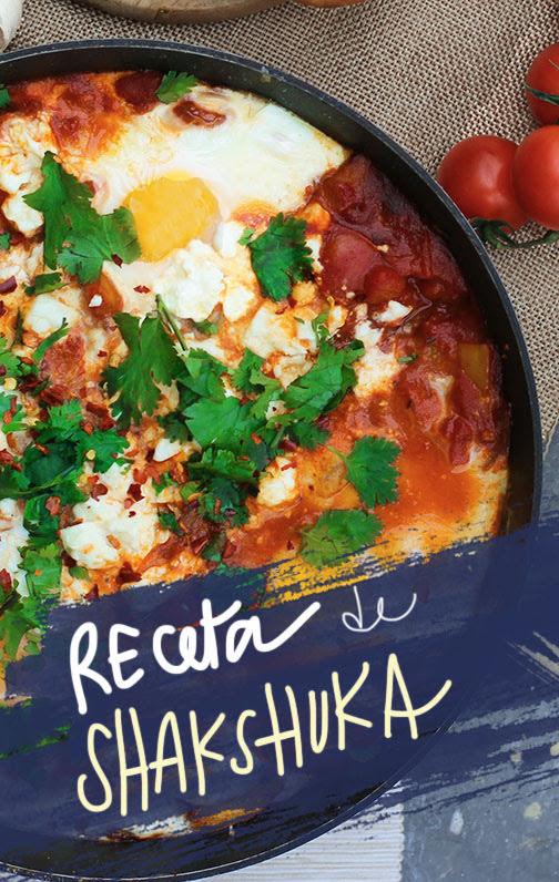 receta de shakshuka