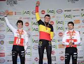 """Beloftenkampioen Thijs Aerts heerste in het zand: """"Die strook ging precies vanzelf"""""""