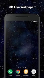 3D Black Live Wallpaper PRO - náhled