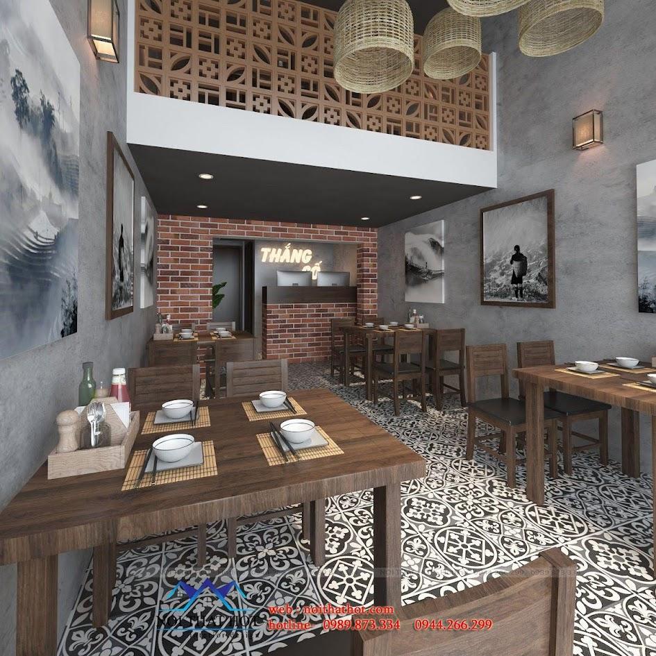 thiết kế nhà hàng thắng cố 2