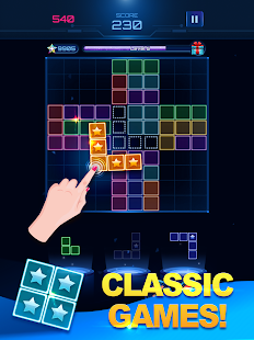 Download Glow Block Puzzle: Free Color Jewel Games 2019 For PC Windows and Mac apk screenshot 8