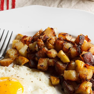 Home Fries with Chestnuts