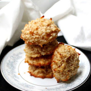 Vegan Coconut Almond Macaroons.
