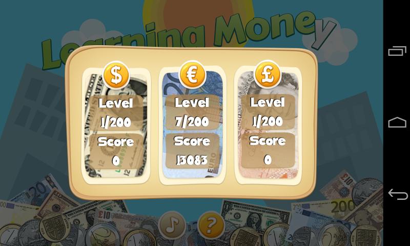 Скриншот Kids Learning Money Lite