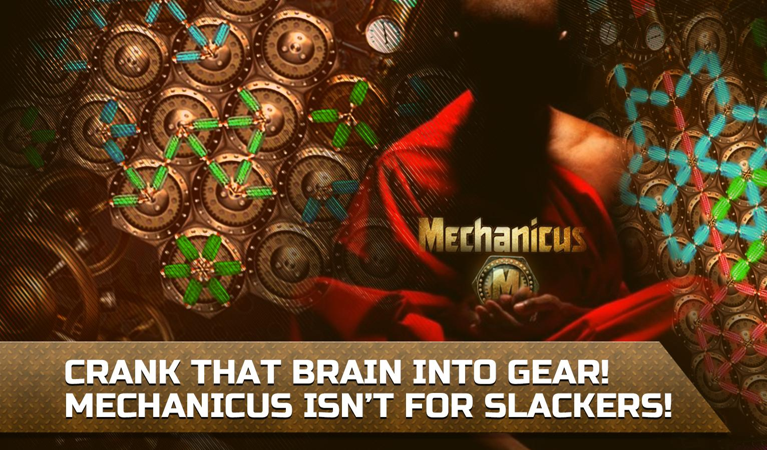 Mechanicus logic puzzle game for IQ- screenshot