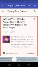 Joyce Meyer Devotional screenshot thumbnail