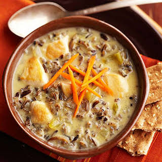 Chicken and Wild Rice Soup.