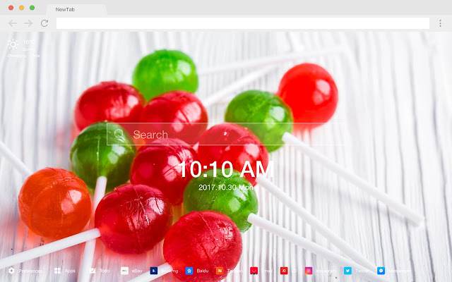 Lollipop New Tab Page HD Wallpapers Themes