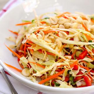 Thai Cabbage Salad.
