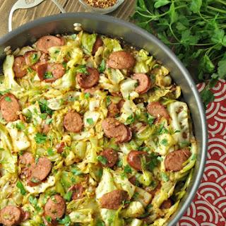 Fried Cabbage with Kielbasa – Low Carb, Gluten Free