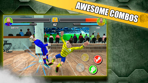 Free soccer game 2018 - Fight of heroes 1.6 screenshots 24