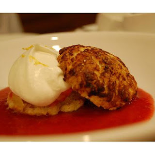 Strawberry-Rhubarb Shortcakes