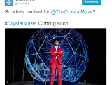 Channel 4 teases that The Crystal Maze is 'coming soon'