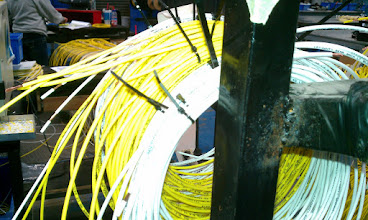 Photo: Cut Wires ready for Harness Assembly