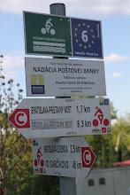 Photo: Konečne sa napájam na Dunajskú cyklistickú cestu. Na ľavej strane Dunaja je značená červeným c-čkom