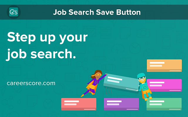 Careerscore: Job Search Save Button
