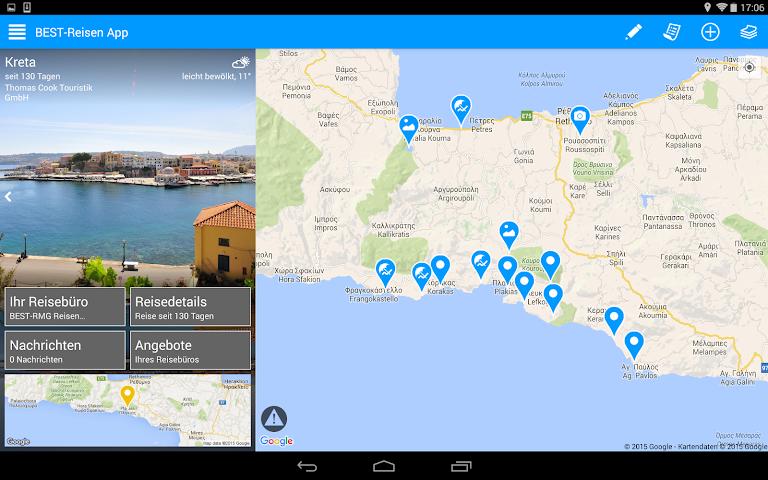 android BEST-Reisen App Screenshot 5
