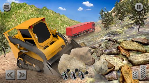 Sand Excavator Truck Driving Rescue Simulator game 5.0 screenshots 4