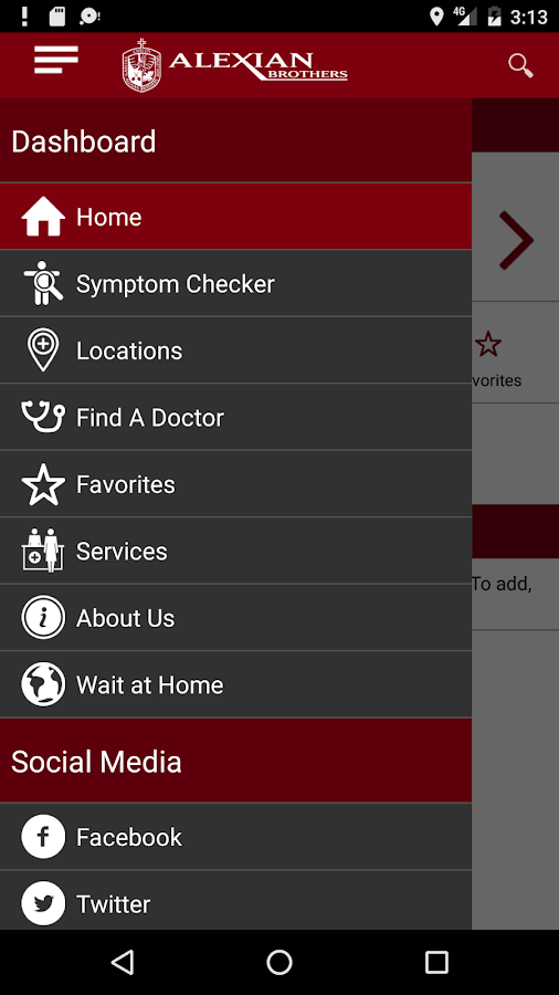 Alexian Brothers Health System- screenshot