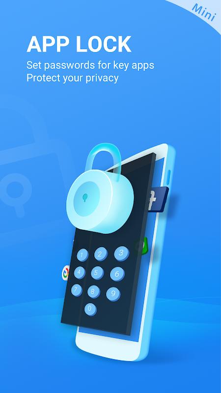 Super Phone Cleaner - Antivirus & Booster (Mini) screenshots