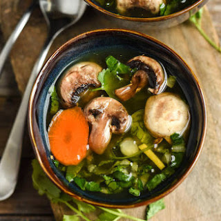 Easy Chinese Vegetable Soup (From Scratch).